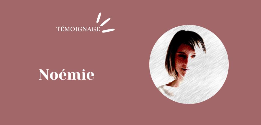 Un projet de roman: le témoignage de Noémie